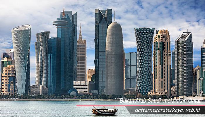 Bukan Arab Saudi, melainkan Qatar