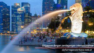 Singapura dengan perdagangan internasionalnya