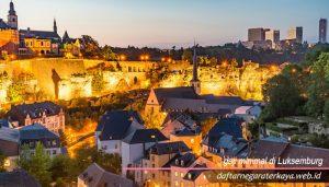 gaji minimal di Luksemburg