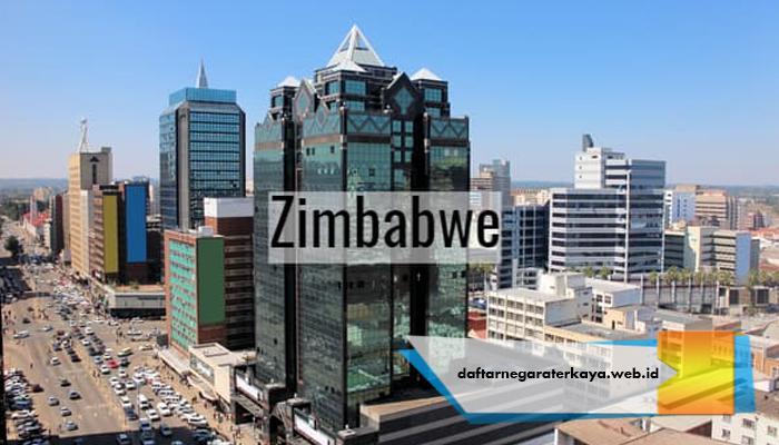 Negara pernah Kaya Zimbabwe