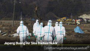 Jepang Buang Air Sisa Radiasi Nuklir