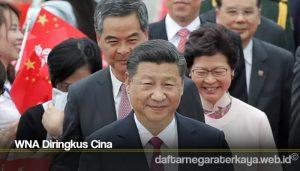 WNA Diringkus Cina