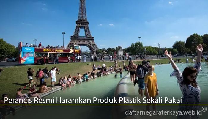 Perancis Resmi Haramkan Produk Plastik Sekali Pakai
