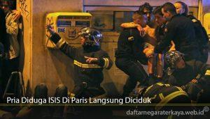Pria Diduga ISIS Di Paris Langsung Diciduk